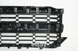 2016 2017 2018 2019 Chevy Silverado 1500 Front Grille Assembly (OEM) BLACK 8555