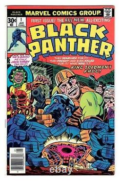 BLACK PANTHER #1- 1977 KEY High Grade 1st solo issue