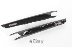 BMW OEM M3 F80 Front Fender Air Intake High Gloss Black Shadow Line SET OF 2 NEW