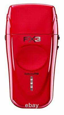 BaByliss Pro FX X3 High -Torque Shaver Red/Black In Stock