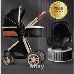 Baby stroller 3 in 1 High quality 2020 design And a fast delivery for the EU/AUS