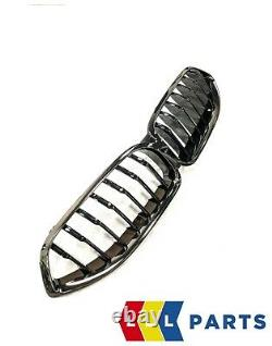 Bmw New Genuine 8 Series G14 G15 G16 Front High Gloss Shadowline Grille 8080610