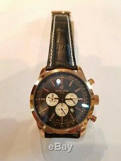Breitling Transocean A2000 Mens Chronograph Leather Watch High Quality Replic@