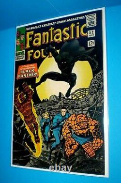 FANTASTIC FOUR #52 High grade VF/NM FIRST BLACK PANTHER APPEARANCE