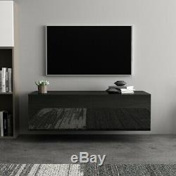High Gloss Wall Mount TV Stand Media Storage Console Center Cabinet 40'' 100CM
