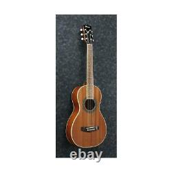 Ibanez PN1MH 6 String Performance Parlor Acoustic Guitar, Natural High Gloss