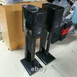 Monitor Audio Gold GX50 Hi Fi Speakers. High Gloss Black, stands not included