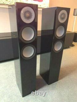 Monitor Audio Silver 200 Loudspeakers, Glossy Black Finish, Priced To Sell Quick
