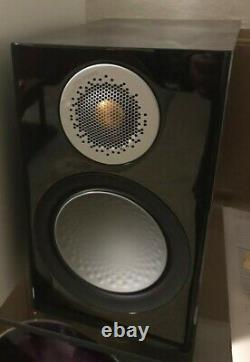 Monitor Audio Silver 50 Speakers 6g High Gloss Black