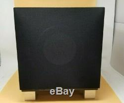 REL T7I T/I-Series 8 200W Powered Subwoofer High-gloss black