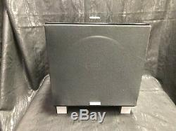 REL T7 200W Powered Subwoofer High-gloss black