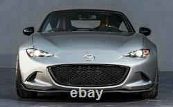 Spyder Front Grill Mazda MX-5 ND/RF ABS Grille High Gloss Black Finish NEW