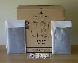 Superb Triangle Esprit-Comete Ez Loudspeakers in High Gloss Black Fully Boxed