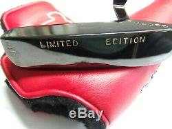 Tad Moore Carbon Steel High Gloss Black Finish Plumb Neck New Putter