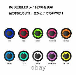 Third-generation LED with high-performance cat ear headphone 10 color Bluetooth