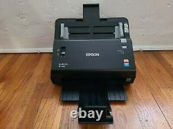 Used Excellent Epson FastFoto FF-640 High-Speed Photo Scanner Black