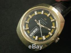 Vintage HAMILTON Self Winding High Beat 36000 Day Date Men Swiss Rare Collection