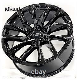 22 Gloss Black 2021 Chevy Tahoe High Country Oe Réplique Roues 2022 6x5.5 +28