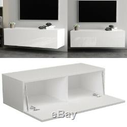 High Gloss Support Mural Support Tv Media Storage Center Console Cabinet 40 '' 100cm