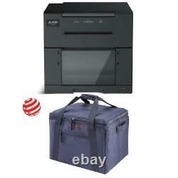 Mitsubishi Cp-m1a A6 High Color Dye Sub Photo Booth Imprimante Withcarrying Case