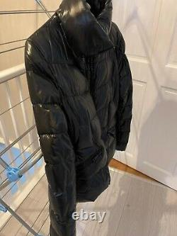Moncler Danae High Gloss Quilted Down Jacket Black Size 1 Sold Out
