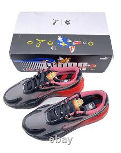 Puma Rs-x3 Sonic Color 2 Noir/-high Risk Red 374313-01 Limited Edition