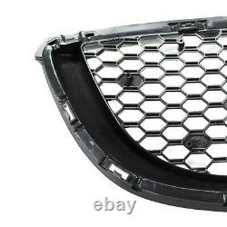 Spyder Front Grill Mazda Mx-5 Nd/rf Abs Grille High Gloss Black Finish Nouveau